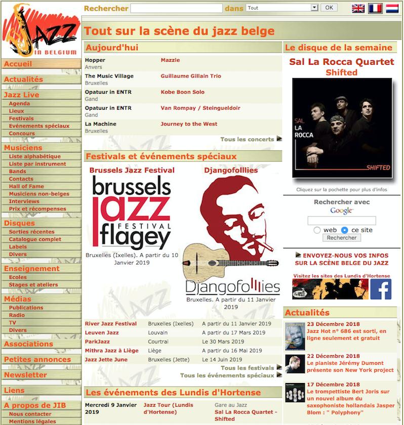 jazz in belgium